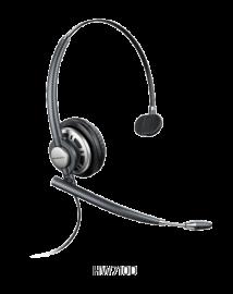 Plantronics Encorepro Hw710D Over-The-Head Monaural Digital Series Corded Headset Top 78715-101