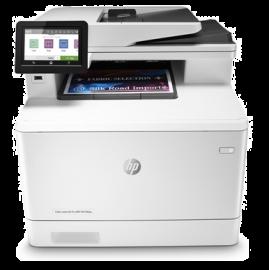 Hp Colour Laserjet Pro M479Fdw Mfp 27Ppm Blk 27Ppm Clr Fax Duplex Network Wifi 1Yr W1A80A