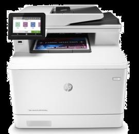 Hp Colour Laserjet Pro M479Fnw Mfp 27Ppm Blk 27Ppm Clr Fax Network Wifi 1Yr Wty W1A78A