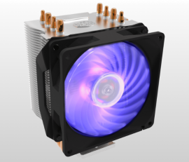 Cooler Master Hyper H410R Rgb 4 Heat Pipes Design Direct Contact Technology (RR-H410-20PC-R1)