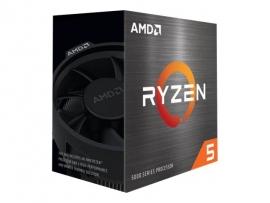 AMD (5600X) RYZEN 5, CORE(6) 3.7GHz, THREADS(12),AM4,65W, CACHE(32MB L3),PCIe 4.0/DDR4,3YR 100-100000065BOX