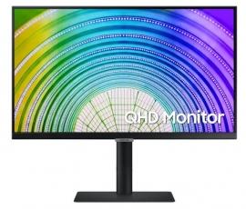 """SAMSUNG (S6U) 24"""" QHD IPS LED (16:9), 2560x1440, 5MS, DP, HDMI, H/ADJ, USB-C, VESA, 3YR LS24A600UCEXXY"""