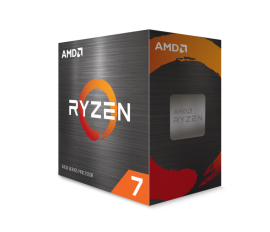 AMD Ryzen 7 5800X, 8-Core/16 Threads, Max Freq 4.7GHz, 36MB Cache Socket AM4 105W, Without cooler 100-100000063WOF
