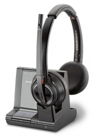 Plantronics Savi W8220 3-In-1 Over-The-Head Stereo W/ Less Uc Dect System (Pc/ Deskphone) 207325-04