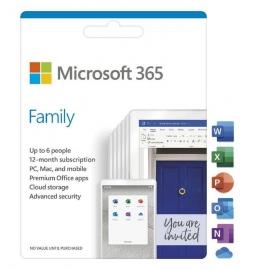 Microsoft 365 Family Win/Mac (6Gq-01143)