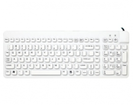 Man And Machine Quiet Usb Keyboard Magfix Medical Rclp/mag/w5