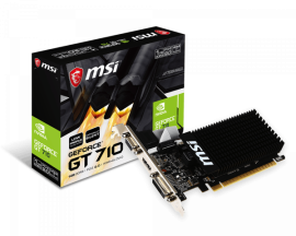 MSI GRAPHIC CARD GT 710 1GD3H LP