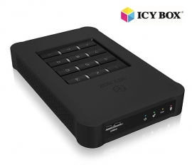 "Icy Box Ib-289u3 - Usb 3.0 Keypad Encrypted Enclosure For 2.5"" Sata Ssd/ Hdd Hddicy289u3"