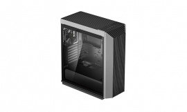 Deepcool CL500 High Airflow Mid-Tower ATX Case Mesh Front Panel, Tempered Glass Side Panel (R-CL500-BKNMA1N-G-1)
