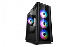 Deepcool MATREXX 50 ADD-RGB 4F LD Mid-Tower Case, Supports E-ATX MC, Tempered Glass (DP-ATX-MATREXX50-AR-4F-LD)