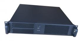 TGC Rack Mountable Server Chassis 2U 390mm Depth, 2x Ext 5.25' Bay, 4x Int 3.5' Bays, 4x Low Profile PCIE Slots, MATX MB, ATX PSU (TGC-24390)