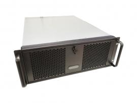 TGC Rack Mountable Server Chassis 4U 570mm Depth, 6x Ext 5.25' Bays, 4x Int 3.5' Bays, 8x Full Height PCIE Slots, ATX PSU/MB RM400 (TGC-4450MG-2)