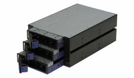 TGC Chassis Accessory SATA Hot Swap Drive Way 2x 5.25' Drive Bay to 3x 3.5' Hot Swap Bays (H300)