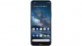 Nokia 8.3 5G 128 GB Polar Night- 6.81' Display, Dual SIM, Snapdragon 765G, NFC, RAM 8 GB, Android 10, 64MP Camera with ZEISS Optics, 4500mAh Battery (HQ5020JQ79000)