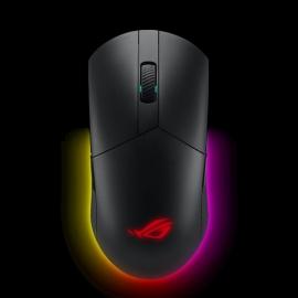 ASUS ROG Pugio II Wireless Optical Gaming Mouse, Lightweight, Ambidextrous, Aura Sync RGB Lighting (ROG PUGIO II)