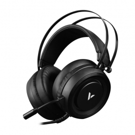 RAPOO VH500 Illuminated RGB Glow Gaming Headsets Black  (VH500-BLACK)