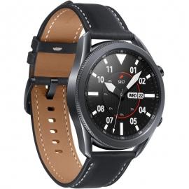 Samsung Galaxy Watch3 Bluetooth (45mm) Mystic Black - (SM-R840NZKAXSA) 1.4' Super AMOLED Display,1.15GHz Dual Core CPU,