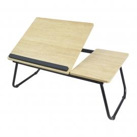 mbeat activiva Erogolife Portable Laptop & Reading Table - White Oak Color ACA-LDSK-01OAK