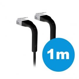 UniFi patch cable with both end bendable RJ45 1m - Black (UC-PATCH-1M-RJ45-BK)