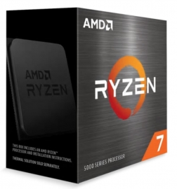AMD Ryzen 7 5800X Zen 3 CPU 8C/16T TDP 105W Boost Up To 4.7GHz Base 3.8GHz Total Cache 36MB No Cooler (100-100000063WOF-P)