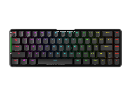 ASUS M601 ROG FALCHION/RD Wireless Mechanical Gaming Keyboard, 68 Keys 65% Layout, 450 Hours (ROG FALCHION/RD/US)