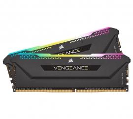 Corsair Vengeance RGB PRO SL 32GB (2x16GB) DDR4 3200Mhz C16 Black Heatspreader Desktop Gaming Memory (CMH32GX4M2E3200C16)