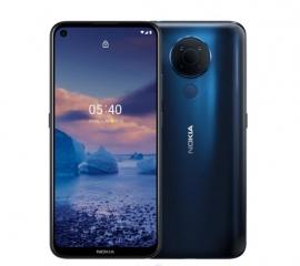 Nokia 5.4 128GB Blue - Display 6.39'' HD+, Qualcomm® Snapdragon™ 662 CPU, 4GB RAM, 128GB ROM, Dual SIM, 4000 mAh non-removable Battery (HQ5020LR92000)