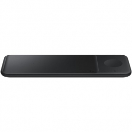 Samsung Galaxy Trio Wireless Charger - Trio Charger Pad - Black - Wireless Fast Charging (EP-P6300TBEGAU)