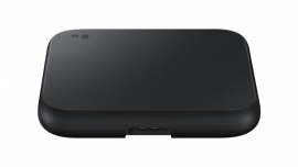Samsung Wireless Charger Single Pad Black- Support All QI universal Standard Handset, 9W Fast Charging (EP-P1300TBEGAU)