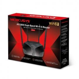 Mercusys MR70X AX1800 Dual-Band WiFi 6 Router, Up to 1.8Gbps, OFDMA, MU-MIMO, WPA3 (MR70X)
