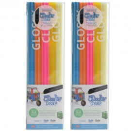 3Doodler Create PLA Plastic Boogie Nights-2pack (3DS-PL-MIX13-2P)