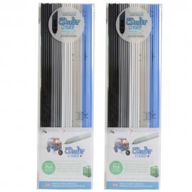 3Doodler Create PLA Plastic The Essentials-2pack (3DS-PL-MIX6-2P)