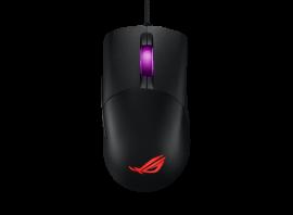 ASUS P509 ROG KERIS FPS Gaming Mouse, Lightweight, Black, 16,000 DPI, PBT Polymer L/R, Piush Fit Socket, Omni Mouse Feet, Paracord, Aura Sync RGB (P509 ROG KERIS)