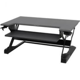 Ergotron Workfit Tl Black Sit Stand Desktop Workstation. Height Adjustable. Replaces 33-397-085