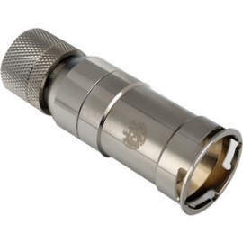 Bitspower Full 360-Degree Rotation Female Compression Fitting For Id 3/8 Od 5/8 Quick Shutoff And