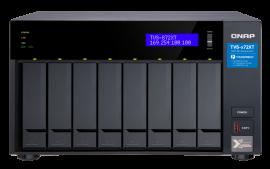 QNAP TVS-872XT-i5-16G 8-Bay NAS, Intel core i5-8400T 6-core 1.7 GHz Processor(max 3.3GHz), 16GB DDR4 RAM (max 32GB RAM), 2y wty