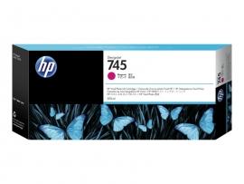 HP 745 300-ML MAGENTA DESIGNJET INK CARTRIDGE - Z2600/Z5600  F9K01A
