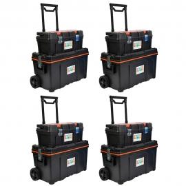 STEAM 2 x Portable Lockable STEAM Storage With 2 Portable Lockable STEAM Storage Kits (IW-STEAMSTOR-2-1SK)