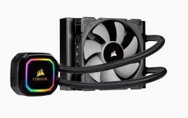 Corsair H60i RGB PRO XT 120mm Liquid CPU Cooler. RGB Pump Head, Efficient cool plate and pump. 1x ML 120 PWM Fan, 1200, 115x, 1366, 2011/2066, AM4 (CW-9060049-WW)