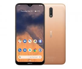 Nokia 2.3 4G 32GB Sand - 6.2' Display, 2GB RAM, Android 10, 32GB Storage Exp up to 512GB, Dual Camera, 4000mAh battery, Nano SIM (7.20E+11)