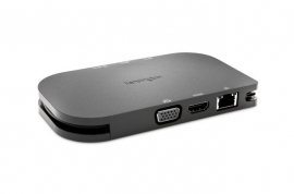 KENSINGTON SD1610P SINGLE DISPLAY DOCKING STATION, HDMI(1),VGA(1),USB-C(1),USB-A, 60W, 3YR K38365WW
