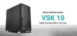 Antec VSK10 mATX with True 550w 80+ 85% Efficiency PSU, 2x USB 3.0 Thermally Advanced Builder's Case. 1x 120mm Fan. Two Years Warranty (VSK1055)