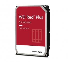 Western Digital WD Red Plus 6TB 3.5' NAS HDD SATA3 5640RPM 64MB Cache CMR 24x7 NASware 3.0 Tech 3yrs wty (WD60EFZX)