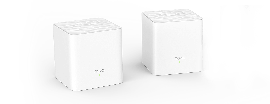 Tenda Nova MW3 2-pack AC1200 Whole-home Mesh WiFi System, 200 Square Meters, 867Mbps/300Mbps, MI-MIMO, SSID Broadcast, Beamforming (MW3(2-pack))