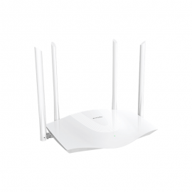 Tenda TX3 AX1800 Dual Band Gigabit Wi-Fi 6 Router, 1201 Mbps/574 Mbps, MU-MIMO, OFDMA, Beamforming, SSID Broadcast, Repeater/WISP/Wi-Fi Router Mode (TX3)
