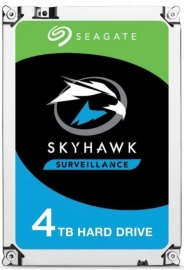 Seagate 4TB 3.5' SkyHawk 256MB SATA3 Surveillance Optimized, NVR Ready, ImagePerfect, RVS HDD (ST4000VX013)