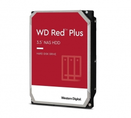 Western Digital WD Red Plus 10TB 3.5' NAS HDD SATA3 7200RPM 256MB Cache 24x7 NASware 3.0 CMR Tech 3yrs wty ~WD101EFAX