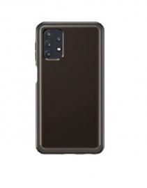 Samsung Galaxy A32 5G Clear Cover - Black - Sleek & Subtle, Battles Against Bumps & Scratches, EF-QA326TBEGWW