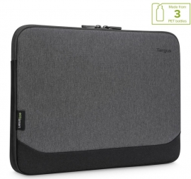 Targus 14' Cypress EcoSmart Slipcase for Laptop Notebook Tablet - Up to 14' - Grey TBS92602GL