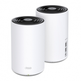 TP-Link Deco X68(2-pack) AX3600 Whole Home Mesh Wi-Fi 6 System (WIFI6), Up to 510m Coverage, WPA3,